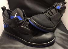 Jordan Fadeaway Black/White/Hyper Royal Basketball Sneaker Size 10 - worn Once