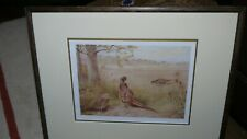 "RARE ARCHIBALD THORBURN Pencil signed Print - ""THE OLD AND THE NEW"""