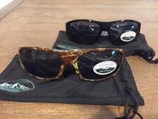 New WoodLand Creek 2 Pairs Of 100%  UV Protection Mens Sunglasses Brand New