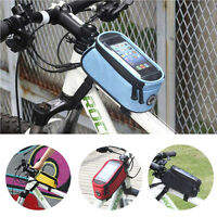 Phone Mobile Key Case Mountain Bike Bicycle Cycling Tube Bag Pannier Front Frame