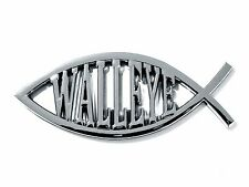 Walleye Car / Truck Emblem Fishing Gifts For Fisherman
