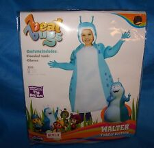 Size L 3T/4T Unisex Netflix Beat Bugs Walter Toddler Costume