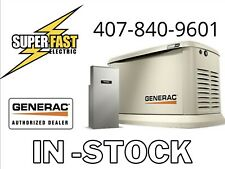 Generac 22kw Guardian Series Air Cooled Home Standby Generator With 200 Amp Ats