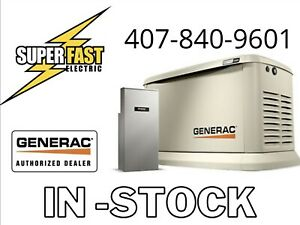 Generac 22KW Guardian Series - Air-Cooled Home Standby Generator w/ 200 amp ATS