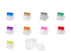 10-teiliges Set Graduated Color Filters Square Cokin P Holder