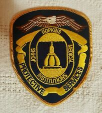 MARYLAND JOHN HOPKINS MEDICAL INSTUTION PATCH PROTECTIVE SERVICES MINT CONDITION