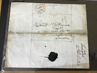 Lord Cork 1840 Frome to London entire letter cover Ref R28492