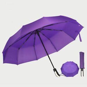 Full Automatic Reinforced Umbrella Three Folding Male Female Windproof Umbrella