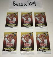 NEW SEALED 🚨2020 Topps Series 2 LOT of (6) 5 Card PACKS 30 Total🔥NEVER OPENED