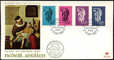 Netherlands Antilles 1967 Cultural, Social Relief  FDC First Day Cover #C26602