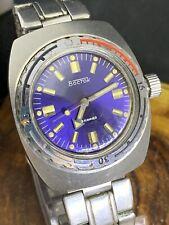 Watch USSR Vostok Wostok Amphibian SERVICED Mechanical Soviet Wristwatch #0793