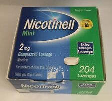 Nicotinell Mint 2mg Compressed Lozenge Extra Strength 204 Lozenges