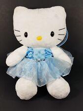 Build A Bear Hello Kitty 18 inch plush stuffed animal blue Snow Fairy costume