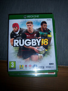 RUGBY 18 XBOX ONE GAME GREAT CONDITION FREE DELIVERY