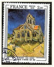 TIMBRE FRANCE OBLITERE N° 2054 TABLEAU VAN GOGH / Photo non contractuelle