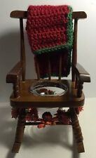 "Decorative Rocking Chair. Size 5"" X 8.5"" Inches."