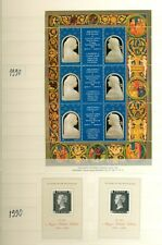 HUNGARY 100 PRIVATELY PRINTED SOUVENIR SHEETS 1971-2004
