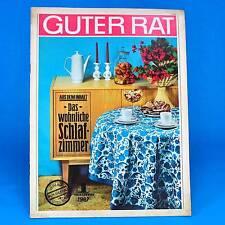 Guter Rat | 1-1967  | Verlag für die Frau | DDR Wochenende Bügeln Tapezieren