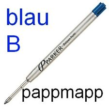 PARKER Kugelschreibermine Z42 Mine Original blau B - breit