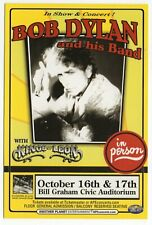 Original 2K6 Bob Dylan And His Band Kings Of Leon San Francisco Concert Handbill