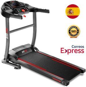 Cinta de Correr Plegable FITFIU Fitness MC200 Con LCD 1500w 14km/h Unisex Adulto