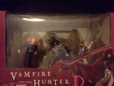 Vampire Hunter D PVC Figure Set Darkhorse Deluxe (unopened)