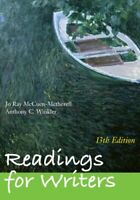 Readings For Writers  by Jo Ray Mccuen-Metherell
