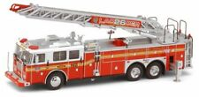 Code 3 FDNY Seagrave Rear Mount L26 Anniversary Special 12855 1/64 Diecast Truck