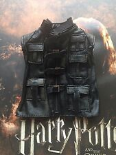 Star Ace Harry Potter Alastor Mad Eye Moody Cuero Chaleco Suelto Escala 1/6th