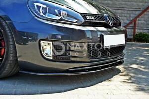 BODY KIT PARAURTI LAMA Splitter anteriore VW GOLF VI MK6 GTI
