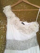 Rachel Gilbert|Designer|Cocktail|Races|Wedding|Dress Size 8-10 Silk Beads