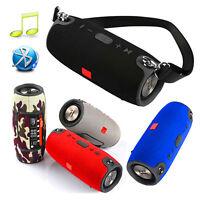 Wireless Bluetooth Speaker Portable Subwoofer Waterproof Bass Stereo Loudspeaker