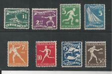 NETHERLANDS # B25-32 MNH 1928 SUMMER OLYMPICS (3299)