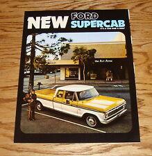 Original 1974 Ford Truck Supercab Sales Brochure 74 Pickup