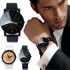 Lujo Para Hombre Mujer Relojes De Pulsera De Acero Inoxidable Negro Reloj Regalo