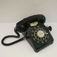 Western Electric 500Dm Rotary Dial Telephone Nbc Studio On Air Tv Maryland Black