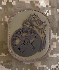 BERSERKER BARBARIAN RUBBER PVC VIKING WARRIOR USA ARMY DESERT HOOK & LOOP PATCH