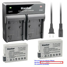 Kastar Battery Fast Dual Charger for Canon LP-E8 LCE8 Canon EOS Rebel T3i Camera