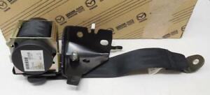 NEW OEM MAZDA 3 Seat Belt Retractor Left Rear BLACK BP4K57790C02 SHIPS TODAY
