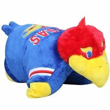 """Kansas Jayhawks Large 18"""" Mascot Pillow Pet - NCAA"""