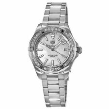 New Tag Heuer Aquaracer Lady 300M 32MM Mother of Women's Watch WBD1313.BA0740