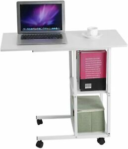 Mobility and Portability Home Office Desk with Rolling Wheels