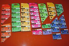 75 Piece Watch Battery SAMPLER  14 Popular numbers..EXTRA 377's !!!
