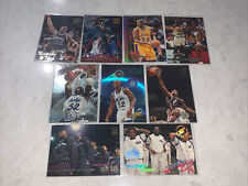 Shaquille O'neal Topps Stadium Club Assortment Lot Of 9. NM.