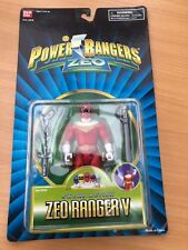 POWER RANGERS MIGHTY MORPHIN ZEO Red Ranger-neuf scellé blister vintage toy