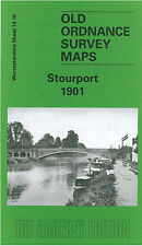 OLD ORDNANCE SURVEY MAP STOURPORT 1901