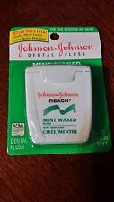 Vintage Reach Dental Floss Mint Johnson & Johnson New Old Stock 90's Prop