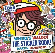 Where's Waldo? The Sticker Book! by Martin Handford c2015, NEW Paperback