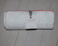 """Anthropologie toddlers quilt leafy vines motif size 38"""" x 50"""" reversible Nwt"""
