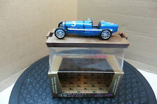 1/43 BRUMM RACING CAR ORO 1933 Bugatti Type 59 DIE CAST MINT BOXED R42